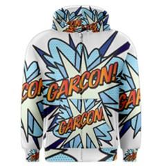 Comic Book Garcon! Men s Zipper Hoodies