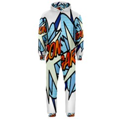 Comic Book Garcon! Hooded Jumpsuit (Men)