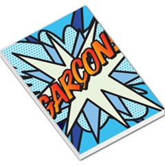 Comic Book Garcon! Large Memo Pads