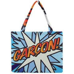 Comic Book Garcon! Tiny Tote Bags