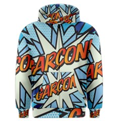 Comic Book Garcon! Men s Zipper Hoodies