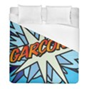 Comic Book Garcon! Duvet Cover Single Side (Twin Size) View1
