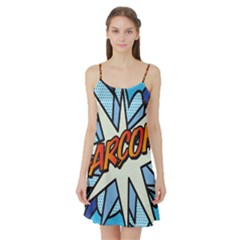 Comic Book Garcon! Satin Night Slip