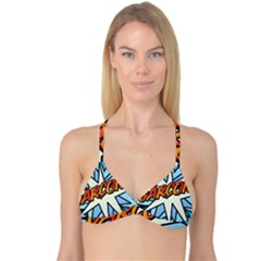 Comic Book Garcon! Reversible Tri Bikini Tops