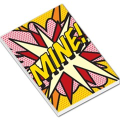 Comic Book Mine! Large Memo Pads