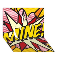 Comic Book Mine! Apple 3D Greeting Card (7x5)