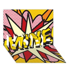 Comic Book Mine! Hope 3d Greeting Card (7x5)