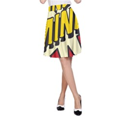 Comic Book Mine! A-Line Skirts