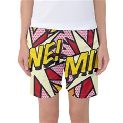 Comic Book Mine! Women s Basketball Shorts