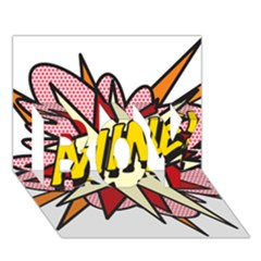 Comic Book Mine! BOY 3D Greeting Card (7x5)