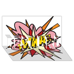 Comic Book Mine! BEST BRO 3D Greeting Card (8x4)