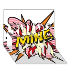 Comic Book Mine! Thank You 3d Greeting Card (7x5)