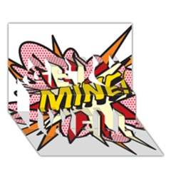 Comic Book Mine! Get Well 3D Greeting Card (7x5)