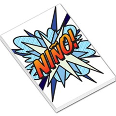 Comic Book Nino! Large Memo Pads