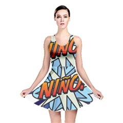 Comic Book Nino! Reversible Skater Dresses