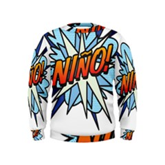 Comic Book Nino! Boys  Sweatshirts