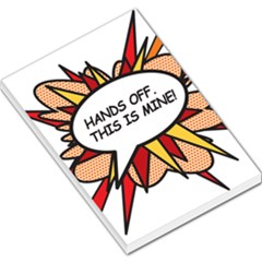 Hands Off Large Memo Pads
