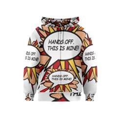Hands Off Kids Zipper Hoodies
