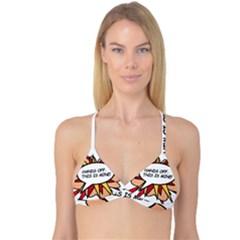 Hands Off Reversible Tri Bikini Tops