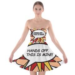 Hands Off Strapless Bra Top Dress