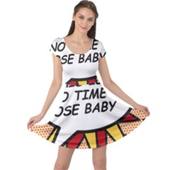 Comic Book This Is No Time To Pose Baby Cap Sleeve Dresses