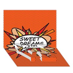 Sweet Dreams Baby!  LOVE Bottom 3D Greeting Card (7x5)