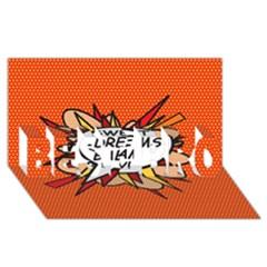 Sweet Dreams Baby!  Best Bro 3d Greeting Card (8x4)