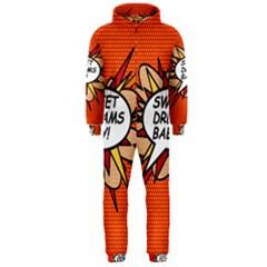 Sweet Dreams Baby!  Hooded Jumpsuit (men)