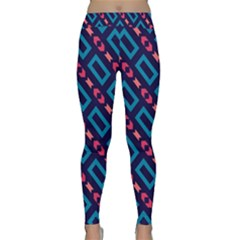 Rectangles and other shapes pattern Yoga Leggings