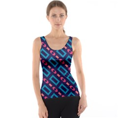 Rectangles And Other Shapes Pattern Tank Top