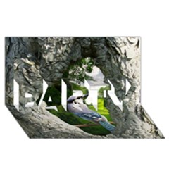 Bird In The Tree 2 PARTY 3D Greeting Card (8x4)
