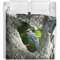Bird In The Tree 2 Duvet Cover (king Size)