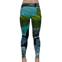 Submarine With Orca Yoga Leggings
