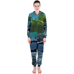 Submarine With Orca Hooded Jumpsuit (Ladies)