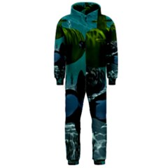Submarine With Orca Hooded Jumpsuit (Men)