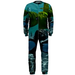 Submarine With Orca OnePiece Jumpsuit (Men)