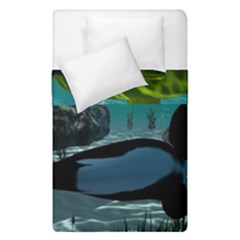 Submarine With Orca Duvet Cover (single Size)