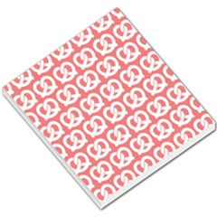 Chic Pretzel Illustrations Pattern Small Memo Pads