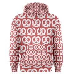 Trendy Pretzel Illustrations Pattern Men s Pullover Hoodies