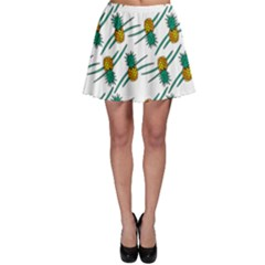 Pineapple Pattern Skater Skirts
