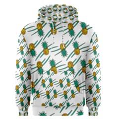 Pineapple Pattern Men s Pullover Hoodies