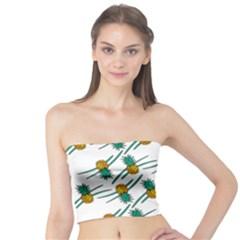 Pineapple Pattern Women s Tube Tops