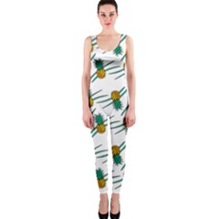 Pineapple Pattern OnePiece Catsuits