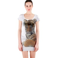 Tiger 2015 0101 Short Sleeve Bodycon Dresses
