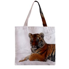 Tiger 2015 0101 Grocery Tote Bags