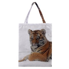 Tiger 2015 0101 Classic Tote Bags