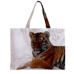 Tiger 2015 0101 Zipper Tiny Tote Bags