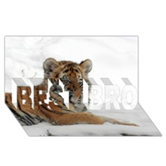 Tiger 2015 0102 BEST BRO 3D Greeting Card (8x4)