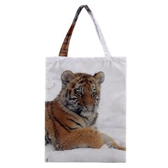 Tiger 2015 0102 Classic Tote Bags