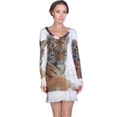 Tiger 2015 0102 Long Sleeve Nightdresses